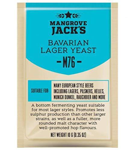 Mangrove Jack's Craft Series Yeast M76 Bavarian Lager (10g)