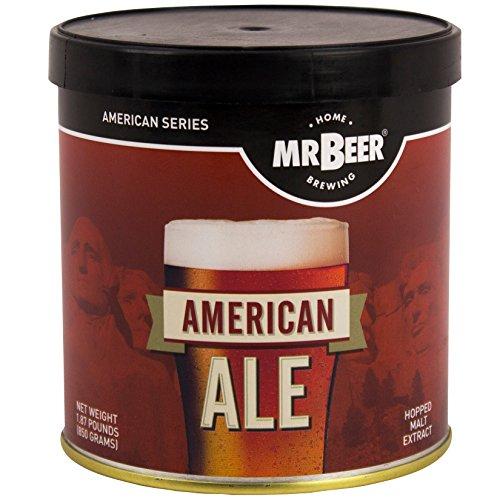 Mr. Beer American Ale 2 Gallon Homebrewing Craft Beer Refill Kit
