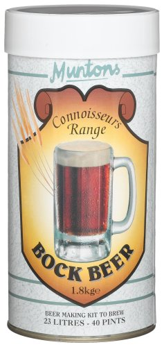 Muntons Beer Kits – Muntons Connoisseurs Bock Beer Home Brew Kit
