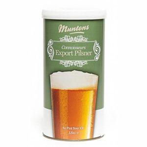 Muntons Beer Kits – Muntons Connoisseurs Export Pilsner Home Brew Kit