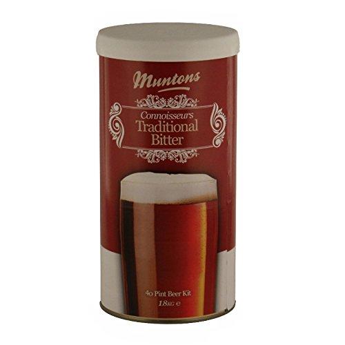 Muntons Beer Kits – Muntons Connoisseurs Traditional Bitter Home Brew Kit