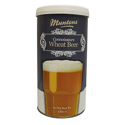 Muntons Beer Kits – Muntons Connoisseurs Wheat Beer Home Brew Kit
