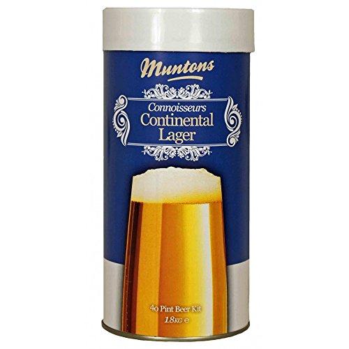 Muntons Connoisseur's 1.8 Kg Continental Lager