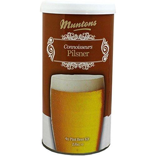 Muntons Connoisseurs Range Pilsner homebrew beer kit