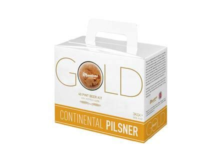 Muntons Gold Continental Pilsener (3 Kg) beer kit