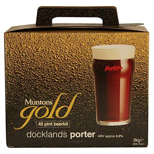 Muntons Gold Docklands Porter (3 Kg) beer kit