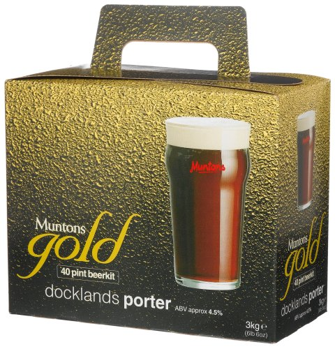 Muntons Gold Range Docklands Porter homebrew beer kit