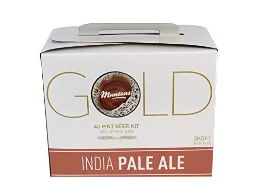 Muntons Gold Range India Pale Ale homebrew beer kit (IPA)