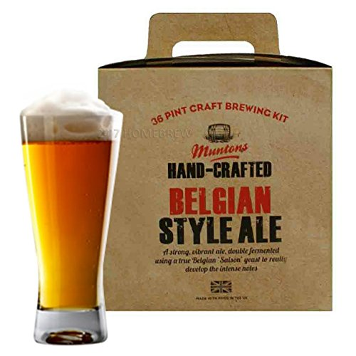 Muntons Hand Crafted Belgian Style Ale Kit – 40 Pints