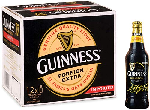 Nigerian Guinness Foreign Extra Stout 12*600ml