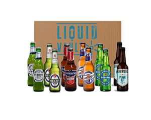 Non Alcoholic Mixed Beer Box of 12 Beers – Discover 6 of the best non alcoholic beers from Brewdog, Becks, Heineken…