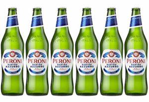 Peroni Nastro Azzurro Italiana Lager 620ml Bottle 6 x 620ml