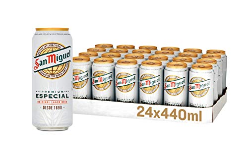 San Miguel Lager Beer, 24 x 440 ml, Case of 24