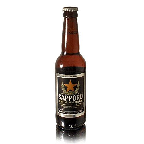 Sapporo Beer, 330 ml, Pack of 24