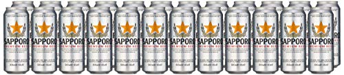 Sapporo Beer Can, 500 ml, Pack of 24
