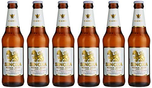 Singha Lager Beer 33 cl (Case of 6)