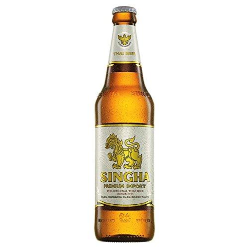 Singha Premium Import Thai Beer 630ml (Pack of 12 x 630ml)