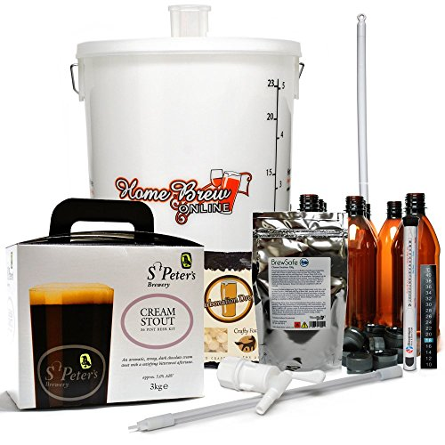 St Peters Micro Brewery Home Brew Complete Starter Kit – Cream Stout
