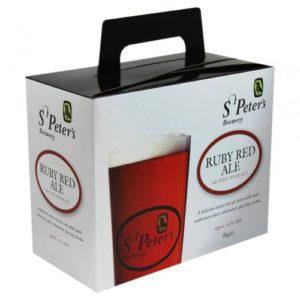 St Peters Ruby Red Ale Beer Kit