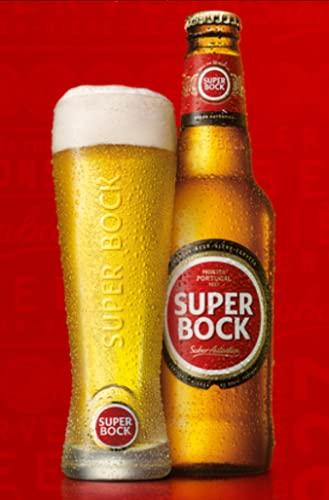 Super Bock Lager , 12 x 660 ml, Case of 12
