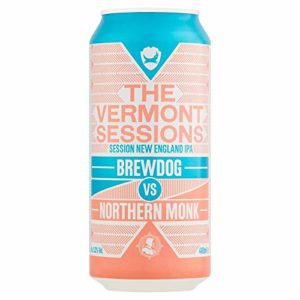 The Vermont Sessions New England IPA Brewdog vs Northern Monk, 440 ml
