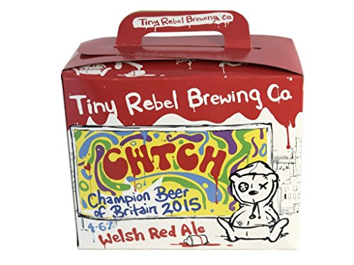 Tiny Rebel Brewing CWTCH Welsh Red Ale 3Kg Home Brew Beer Refill Kit Makes 36 Pints (21 Litres) 4.6% ABV