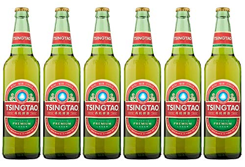 Tsingtao imported Chinese premium Lager 6 x 640ml Bottles delivered to your door