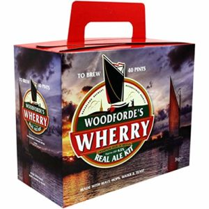 WOODFORDES WHERRY REAL ALE KIT QUALITY BEER HOME BREW BEER MAKING REFILL KIT