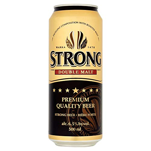 Warka Strong Lager, 50 cl