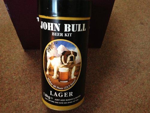 Wine and Home Brew: John Bull Lager 1.8kg