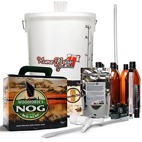 Woodfordes Micro Brewery with Bottles – Norfolk Nog