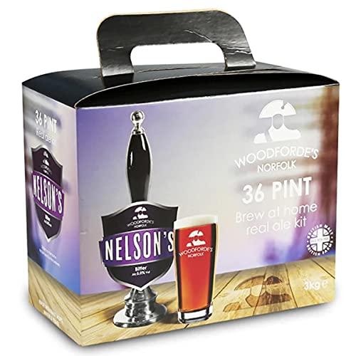 Woodfordes Nelsons Revenge 36 Pint 3kg Home Brew Beer kit