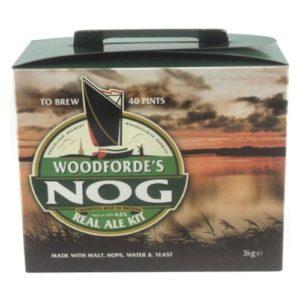 Woodfordes Nog Porter Style (3kg) (40 pt) Beer kit