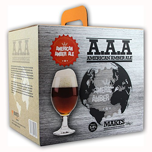 Youngs American Amber Ale AAA Home Brew Beer Kit – Makes 40 Pints!