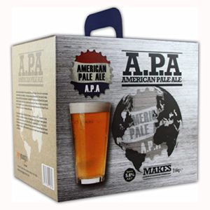 Youngs American Pale Ale APA Home Brew Beer Kit – Makes 40 Pints!