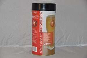 Youngs Brew Buddy Apple Cider Kit (Sparkling) – Makes 40 Pints! – Home Brew Kit