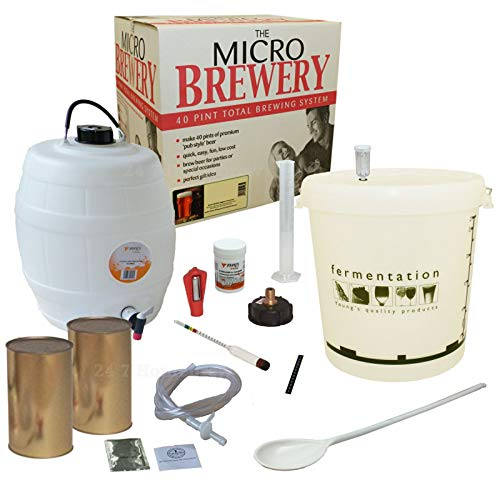 Youngs Micro Brewery Complete Beer Making Kit – Woodfordes Pale Ale – Home brew