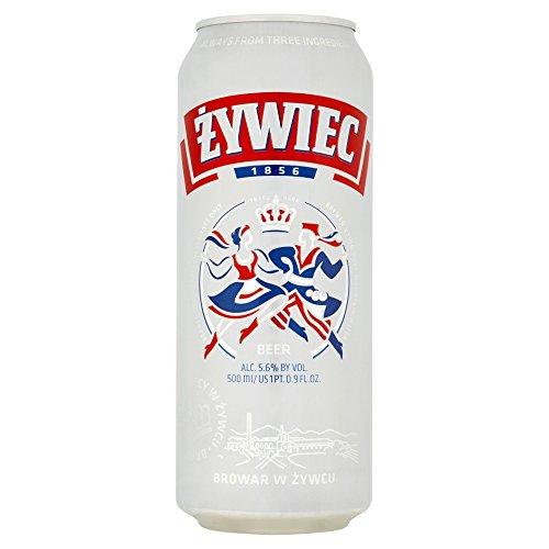 Żywiec Original Lager, 500 ml, Pack of 24