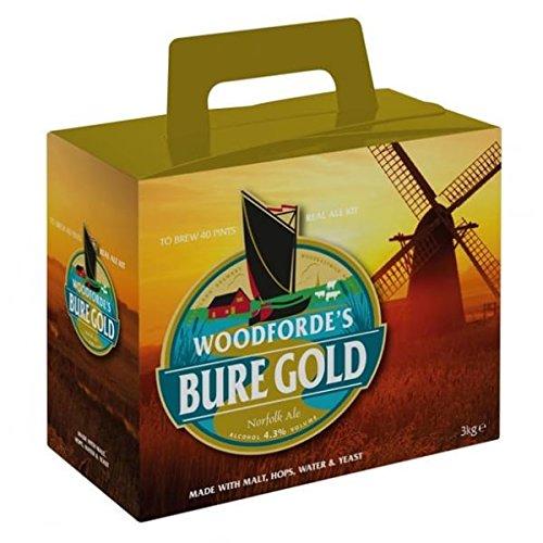 woodfordes Bure Gold Ale Home Brew Beer Kit