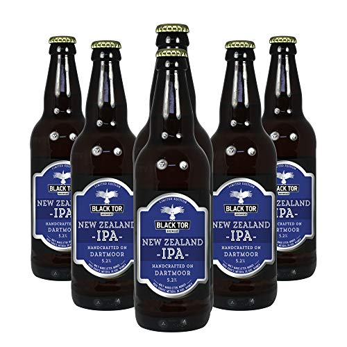 Black Tor Brewery New Zealand IPA Craft Ale Case 6 x 330ml Bottles