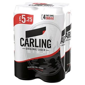 Carling Original Lager 4 x 568ml (Pack of 6 x 4x568ml)