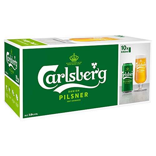 Carlsberg Pilsner, 10 x 440ml