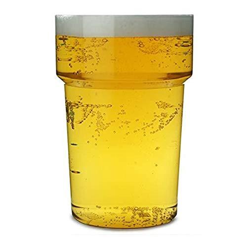 Econ Rigid Reusable Pint Tumblers CE 20oz / 568ml – Set of 10 | Plastic Beer Glasses