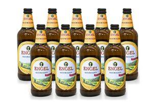 Engel Hefeweizen Hell (Light) | Premium German Craft Beer | Wheat Beer | Case of 9 Bottles | Fruity, Refreshing and Well…