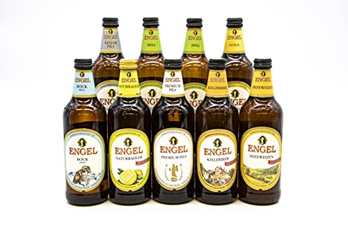 Engel Hell Beer Bundle   Light, Authentic Craft Beer Brewed In Germany   Case of 9 Bottles   Premium Pilsner…