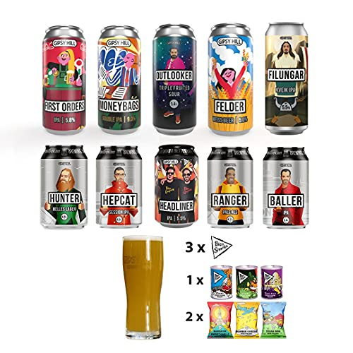 Gipsy Hill Special Edition Craft Beer Box V5: Featuring 10 different beers from their core and specials range, comes…
