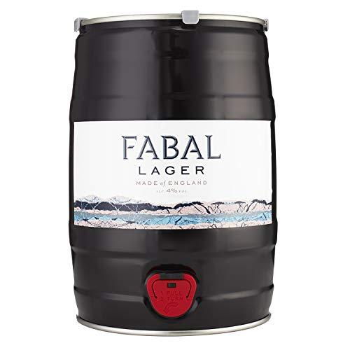 Hiver – Fabal Lager – Lager Keg – Fresh and Natural Craft Beer – Refreshing Lager – 5 Litre Keg