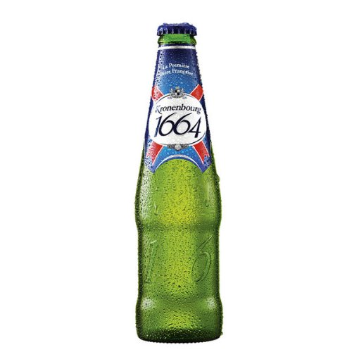 Kronenbourg 1664 Premium Lager (24 x 275ml Bottles)
