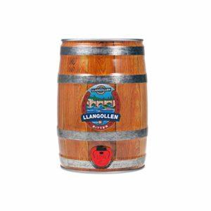 Llangollen Welsh Black Bitter Party Can   Traditional Welsh Craft Beer Keg   Draft Beer Dispenser with Tap – 5 Litre