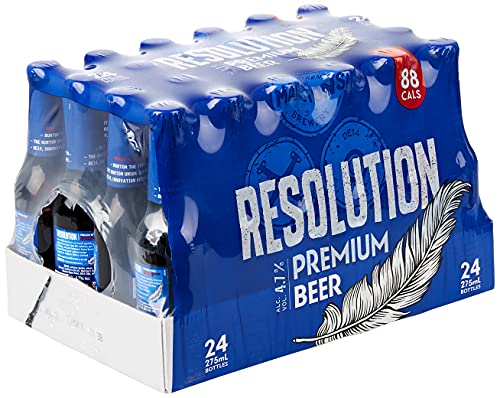 Marstons Resolution Premium Low Carb Beer – 275 ml – 24 count